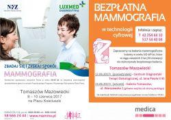 Bezpłatne badania mammograficzne w Tomaszowie