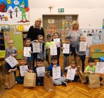 Przedszkolaki na tropie Koziołka Matołka