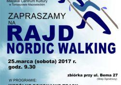 Rajd Nordic Walking ścieżkami lasów tomaszowskich