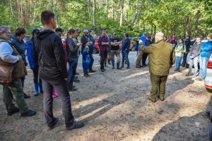 V tomaszowski event geocacherów w Skansenie Rzeki Pilicy