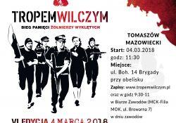 4 marca weź udział w biegu pamięci Żołnierzy Wyklętych