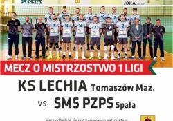 KS Lechia - SMS PZPS Spała. Mecz 27 stycznia