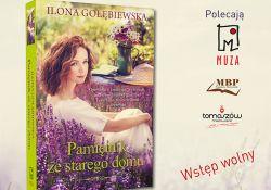 Miejska Biblioteka Publiczna zaprasza na spotkanie z Iloną Gołębiewską