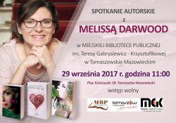 Spotkanie z Melissą Darwood