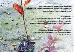 plakat spotkania z przyrodą