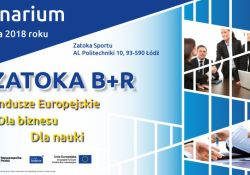 """Seminarium """" Zatoka B+R. Fundusze Europejskie. Dla nauki. Dla biznesu"""""""