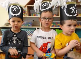 Dzień Górnika wśród przedszkolaków