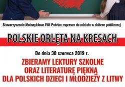Zbiórka książek dla polskich dzieci z Litwy