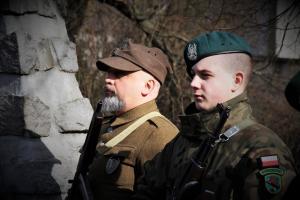 Tomaszowianie oddali hołd Żołnierzom Wyklętym