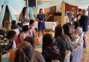 Dzieci z Ukrainy na wakacjach w Tomaszowie