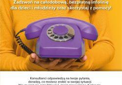 Bezpłatna infolinia dla dzieci, młodzieży, rodziców i pedagogów!