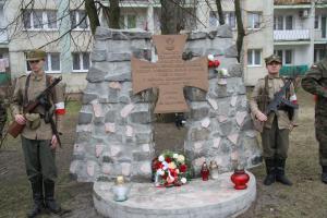 Tomaszowianie upamiętnili Żołnierzy Wyklętych