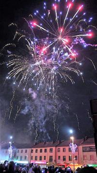 Sylwestrowa noc na placu Kościuszki