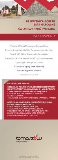 Rocznica Agresji ZSRR na Polskę oraz Światowy Dzień Sybiraka