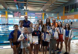 Pływackie sukcesy zawodników Złotej Rybki