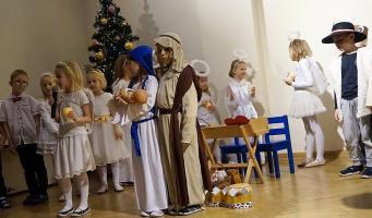 Noworoczno-świąteczne spotkanie w bibliotece