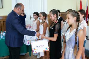 Dzieci z Ukrainy na koloniach w Tomaszowie