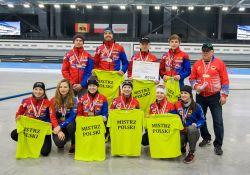 Mistrzostwa Polski w łyżwiarstwie szybkim. Medale dla tomaszowian  [ZDJĘCIA]