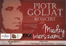 """Koncert Piotra Goljata rozpocznie """"Wczasy w sercu miasta"""""""