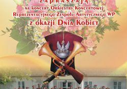 Koncert Orkiestry Koncertowej Reprezentacyjnego Zespołu Artystycznego WP z okazji Dnia Kobiet