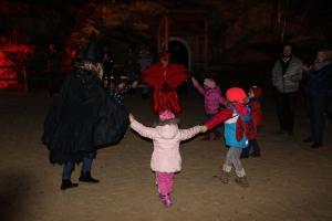Andrzejkowa zabawa w magicznym lesie