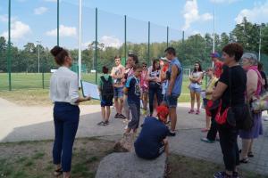 Polskie dzieci z Ukrainy zwiedziły Spałę, Konewkę i Inowłódz