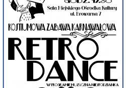 """Zabawa karnawałowa """"Retro Dance"""""""