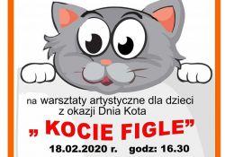 """""""Kocie figle"""" ‒ warsztaty artystyczne dla dzieci"""