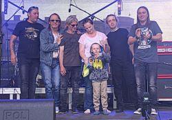 Zespół Cree wystąpił na pl. Kościuszki. Zbieraliśmy środki na leczenie 5-letniego Kubusia