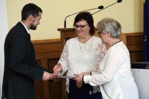 Wybrano prezydium Rady Miejskiej, prezydent Marcin Witko złożył ślubowanie