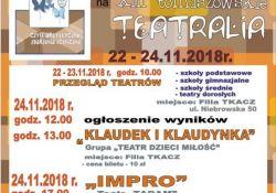 XIII Tomaszowskie Teatralia