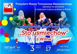 """""""Sto uśmiechów"""" z Wilna. Koncert dla seniorów"""