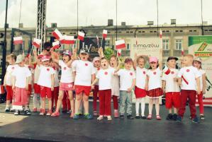 """""""Piłkarska Rodzina"""". Festyn na pl. Kościuszki"""