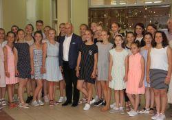 Dzieci z polskich rodzin na koloniach w Tomaszowie
