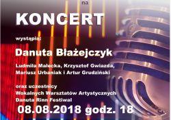 Danuta Rinn Festiwal - koncert uczestników warsztatów