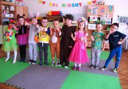 Przedszkolaki witały Wiosnę
