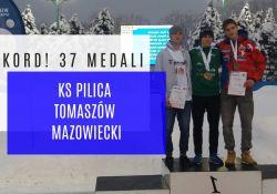 Absolutny rekord !37 medali  dla KS Pilica Tomaszów Mazowiecki