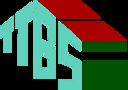Na zdjęciu logo graficzne Tomaszowskiego Towarzystwa Budownictwa Społecznego