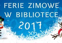 Ferie Zimowe z Biblioteką!