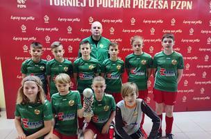 Młodzi piłkarze na turnieju PZPN