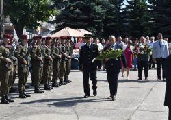 Tomaszowskie uroczystości Święta Wojska Polskiego