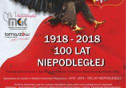 """Konkurs plastyczny """"1918-2018 – 100 lat Niepodległej"""""""