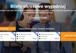Bilety okresowe MZK przez Internet i na telefon