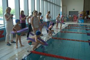 V Szkolne Mistrzostwa klas I – III w pływaniu