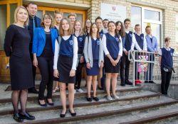 """Uczniowie """"Dwunastki"""" z rewizytą w Zujunach na Litwie"""