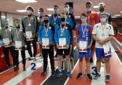 Zawodnicy Pilicy z medalami