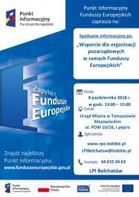 Wsparcie dla organizacji pozarządowych w ramach Funduszy Europejskich