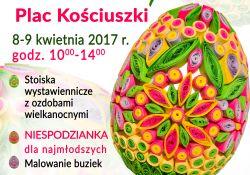 Jarmark Wielkanocny na pl. Kościuszki i kiermasz w Muzeum