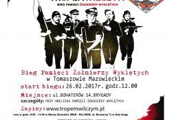 26 lutego weź udział w biegu pamięci Żołnierzy Wyklętych!