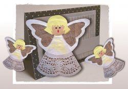 Kartka z aniołkiem- konkurs plastyczny